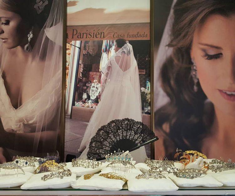 Tiaras de novia en Sevilla
