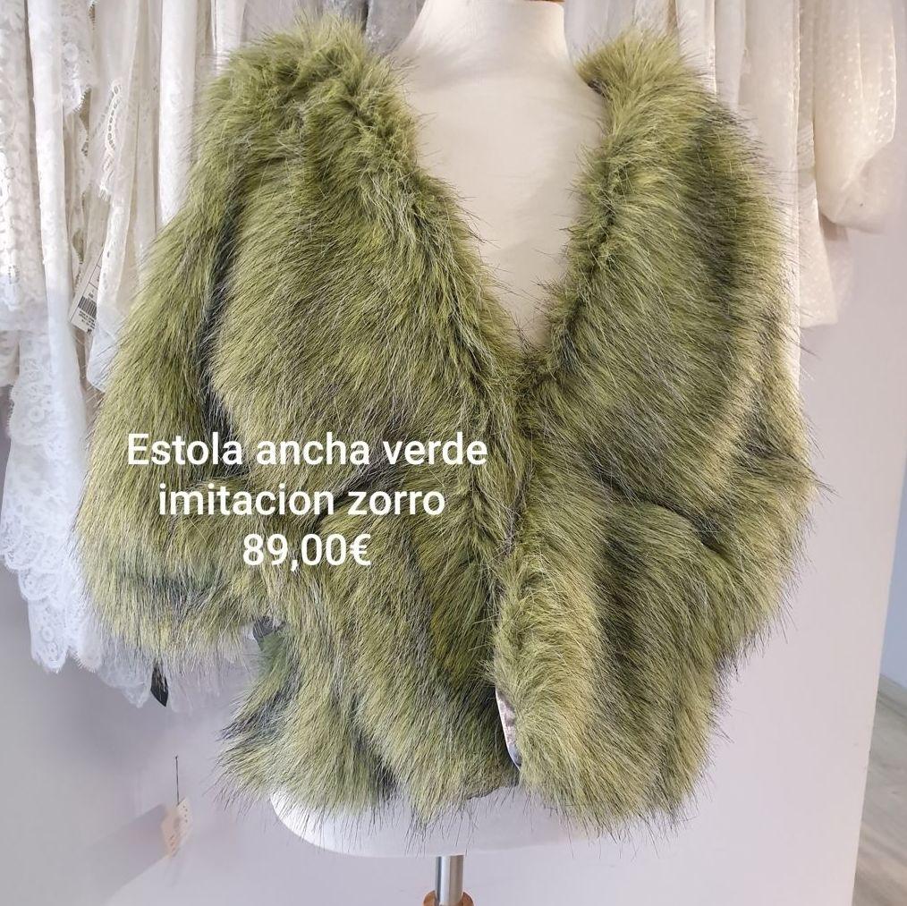 estola ancha verde: Catálogo de La Parisién Sevilla
