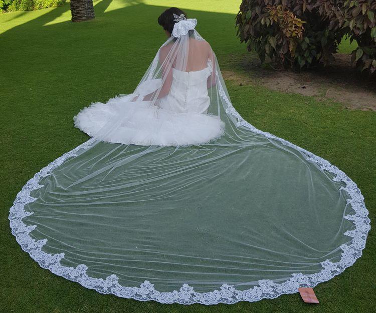 Diseño de velos de novia en Sevilla