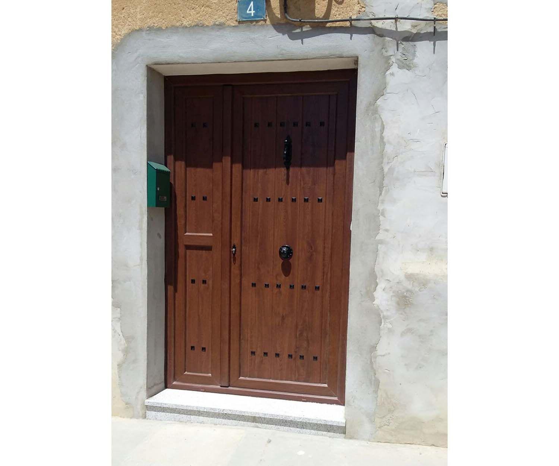 Puertas de PVC y aluminio en Palencia