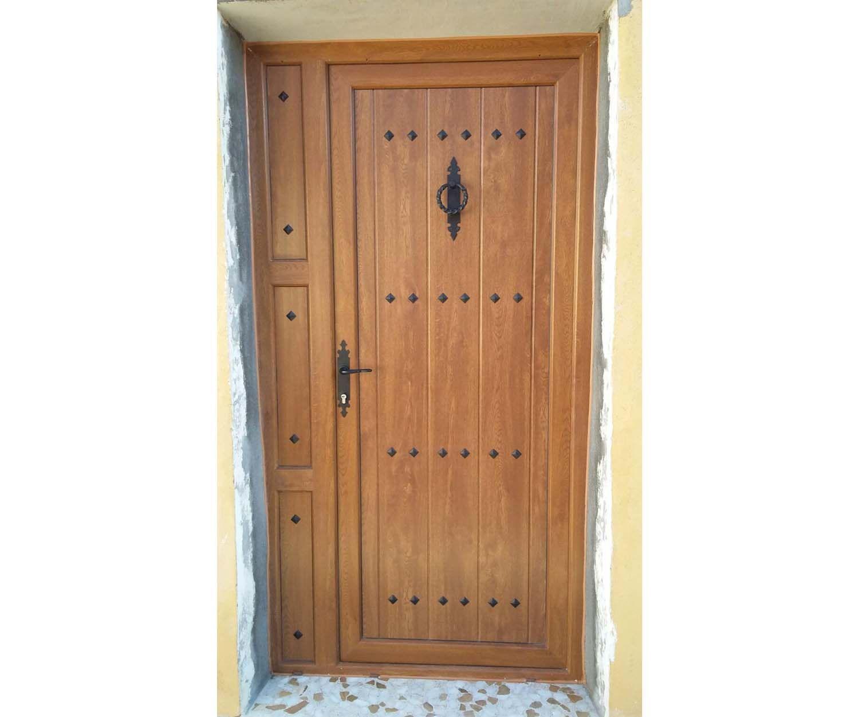 Fabricación de puertas de PVC en Palencia
