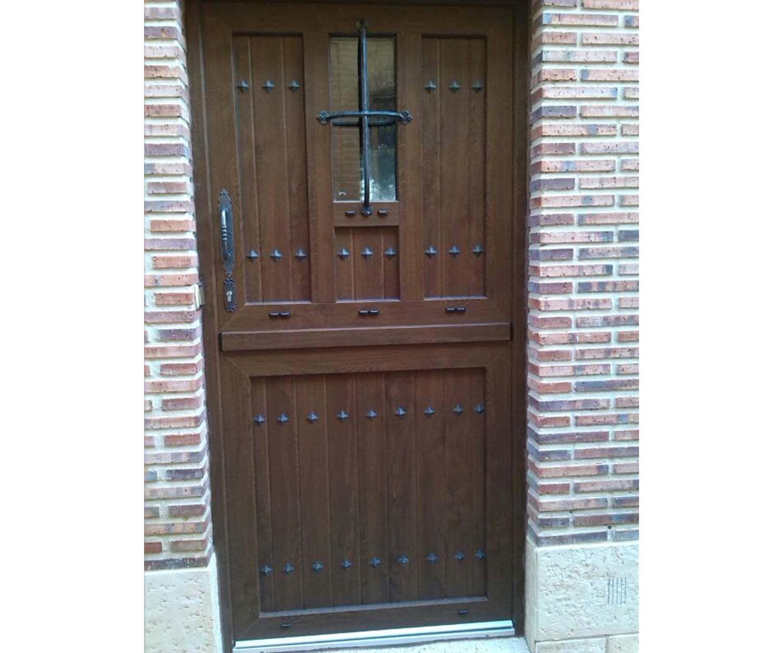 Instalación de puertas de PVC y aluminio en Palencia