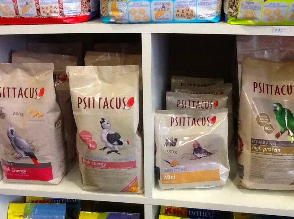 Psittacus: Productos y servicios de El Gato Persa