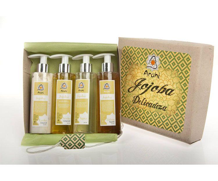 Productos cosméticos de jojoba