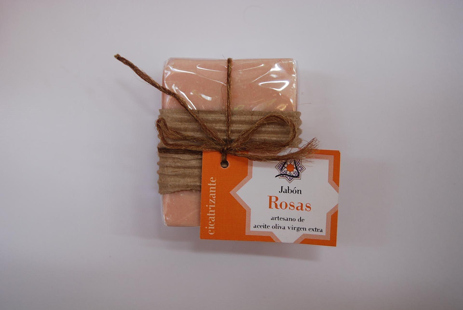 Jabón artesano de rosas: Productos de Arahí