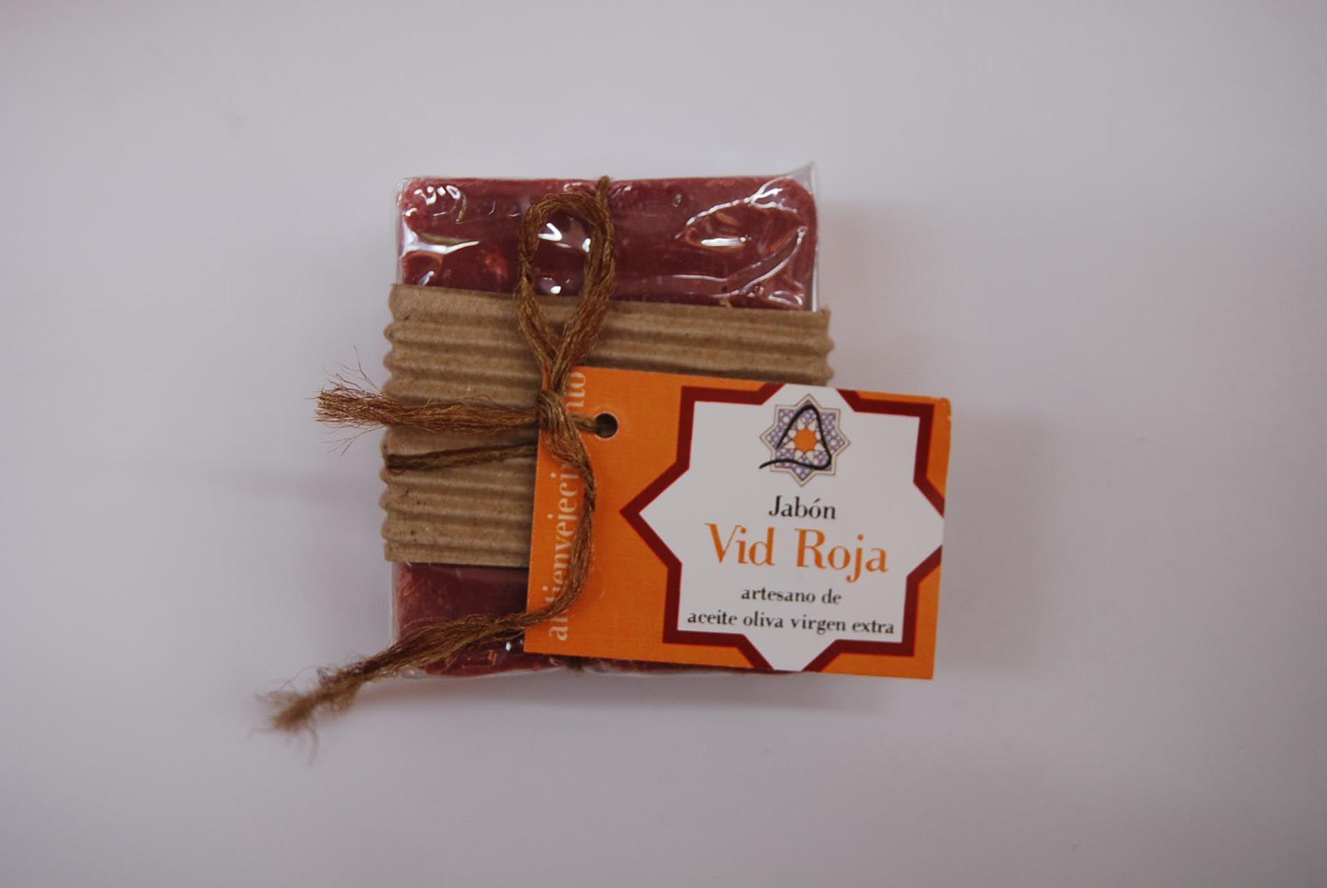Jabón artesano de uva roja: Productos de Arahí