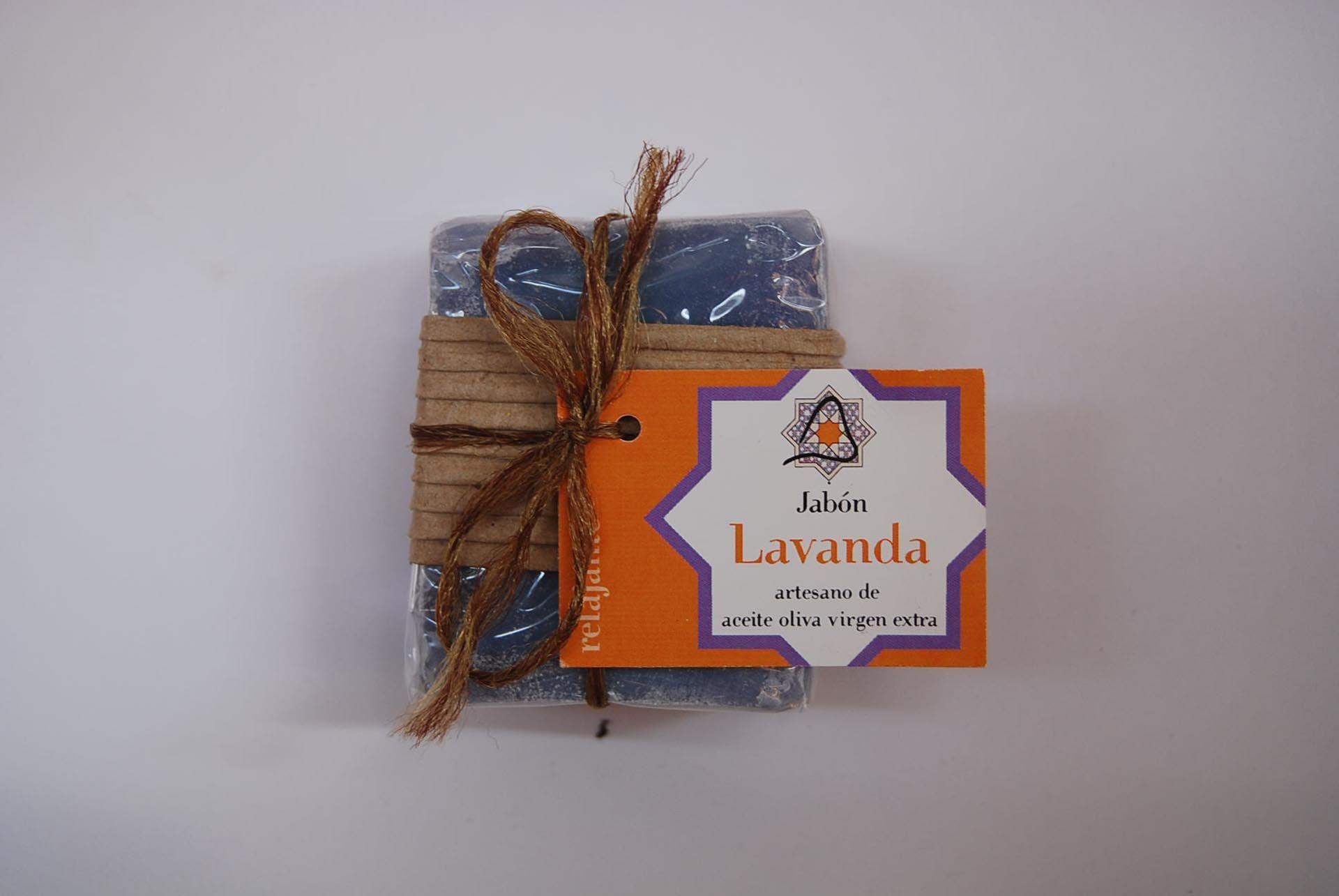 Jabón artesano de lavanda: Productos de Arahí