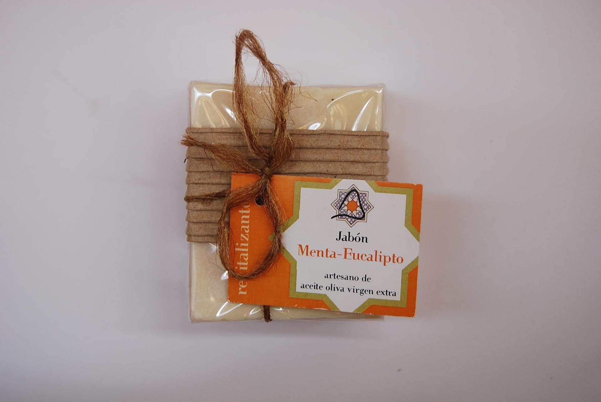 Jabón artesano de menta y eucalipto: Productos de Arahí
