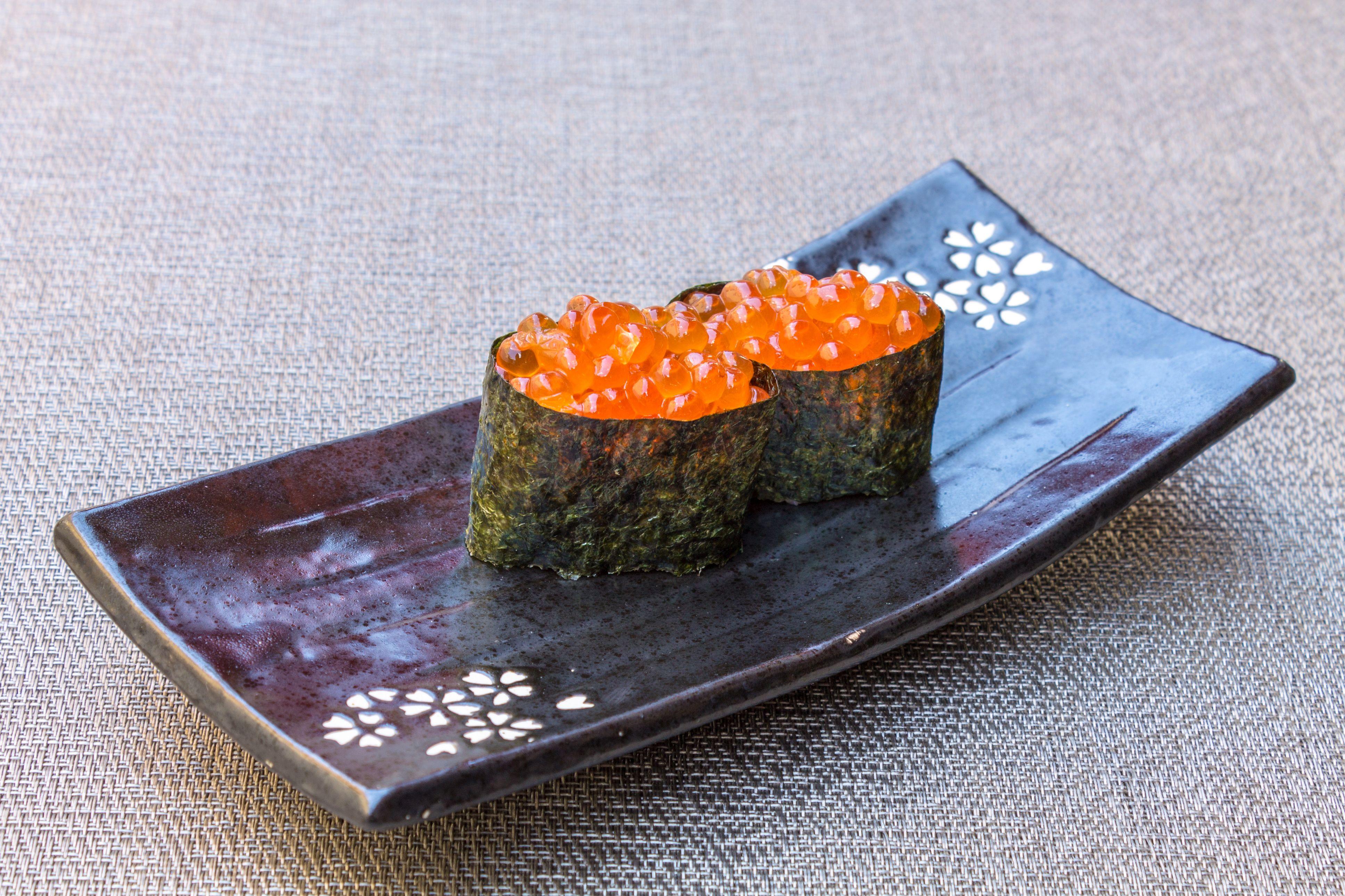 Asados de comida japonesa en Málaga