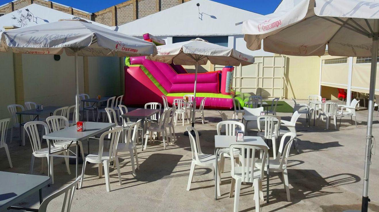 Bar Terraza y zona de juegos infantil en Arahal, Sevilla