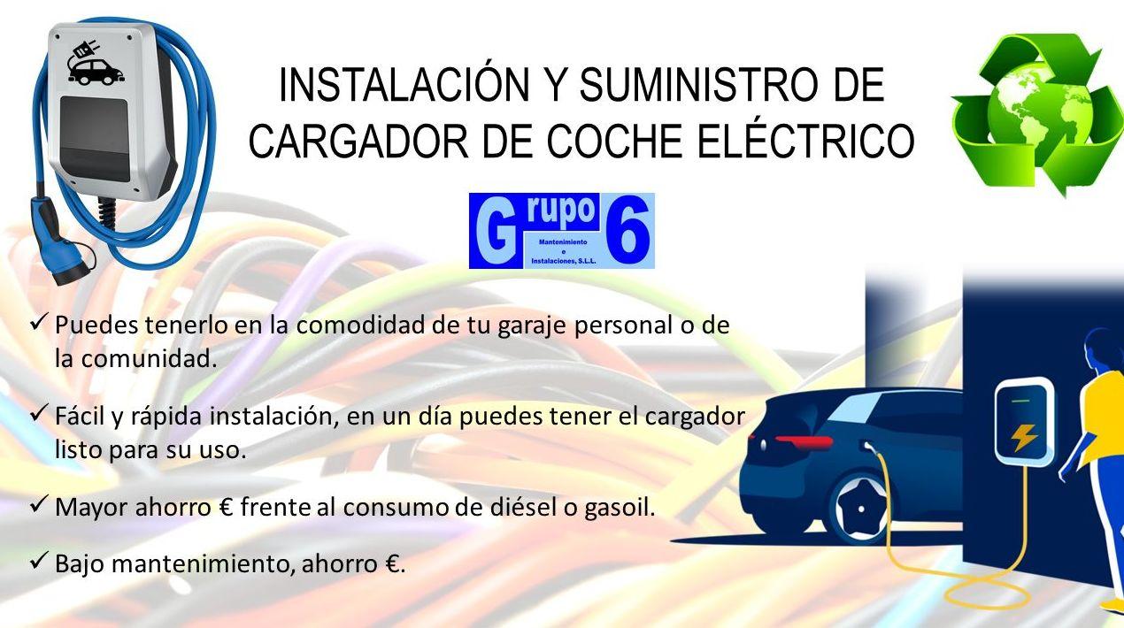 INSTALACIÓN Y SUMINISTRO DE CARGADOR DE COCHE ELÉCTRICO EN MADRID