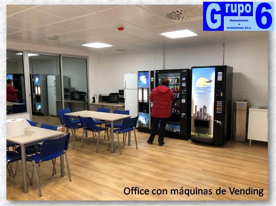 Office y máquinas vending