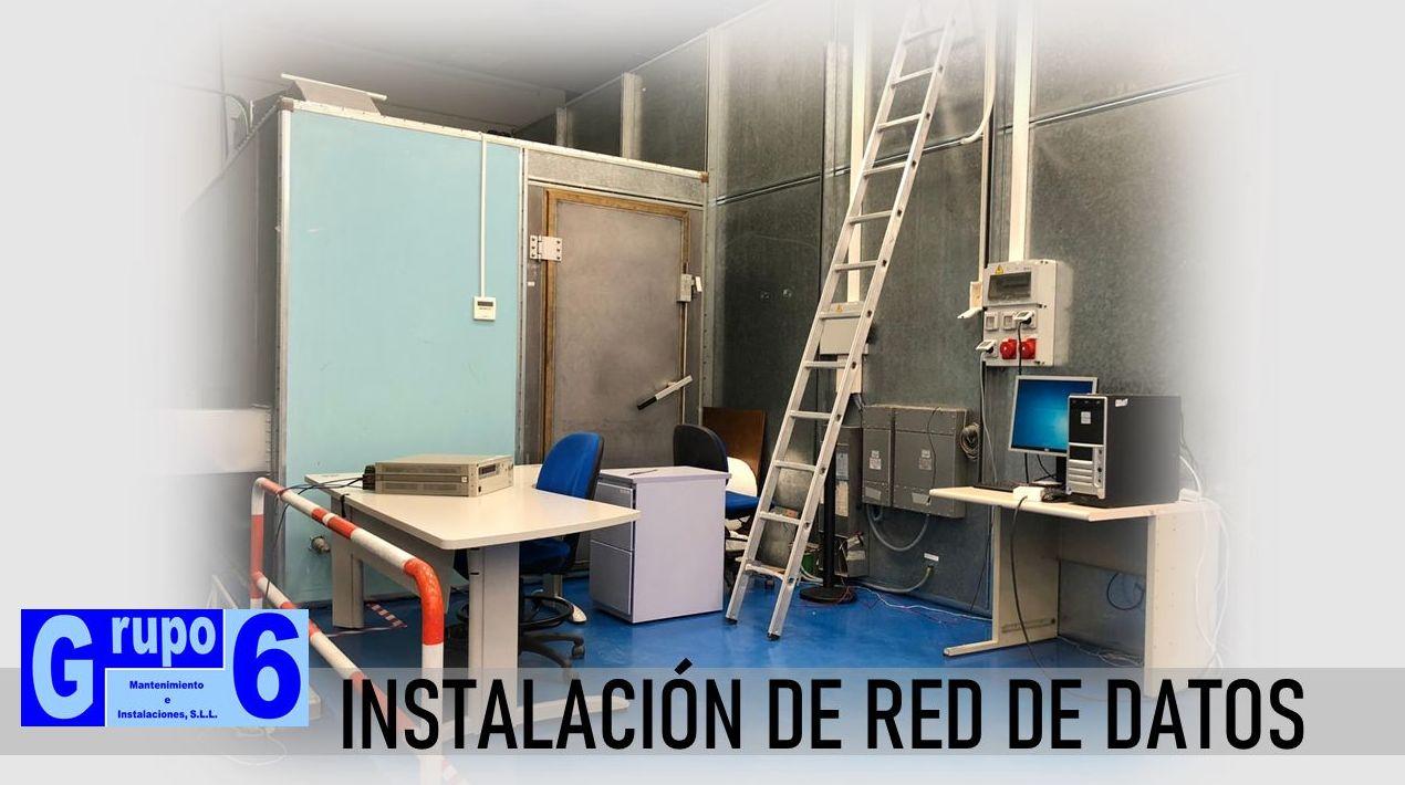 INSTALACIÓN DE RED DE DATOS EN MADRID
