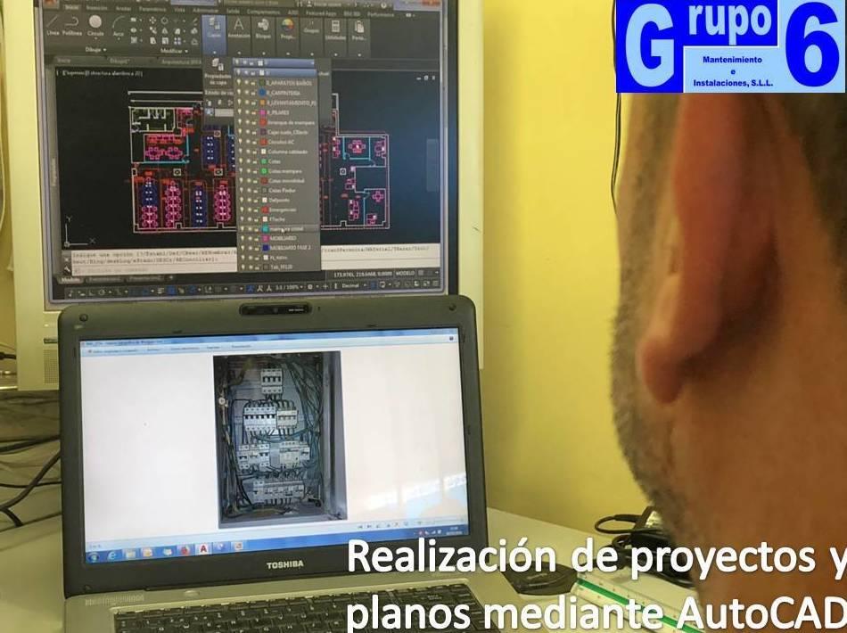 Foto 7 de Electricidad, reformas integrales en Madrid | Grupo 6