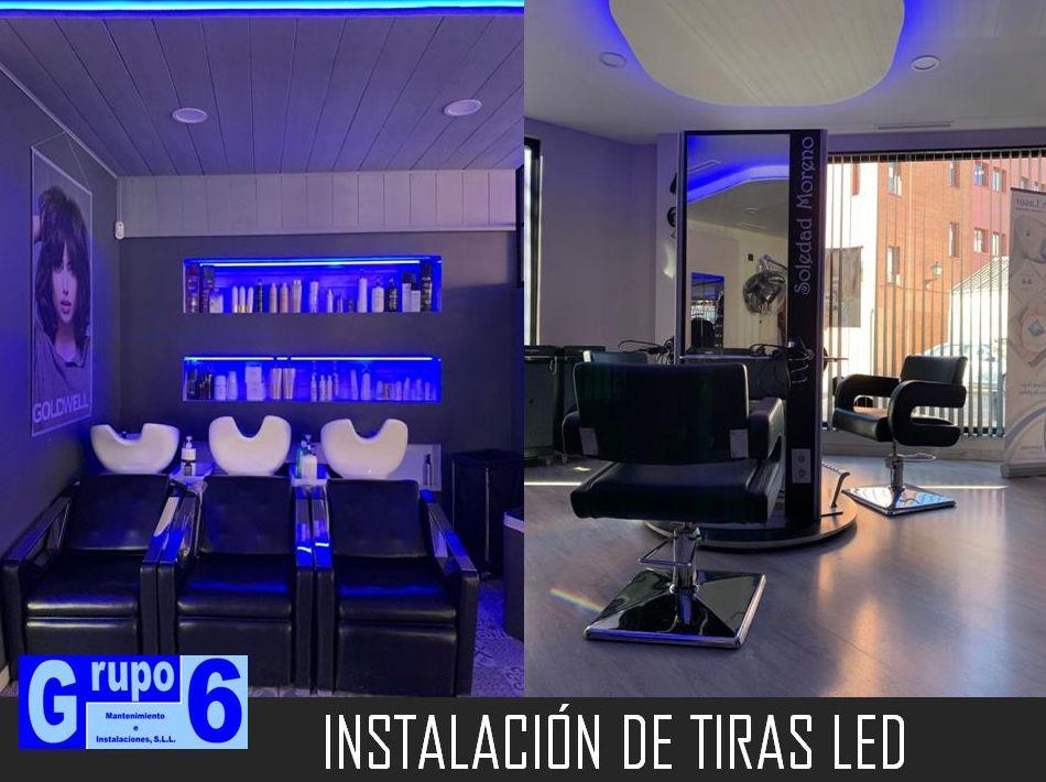 INSTALACIÓN DE LUCES LED EN MADRID