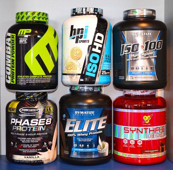 Batidos de proteínas