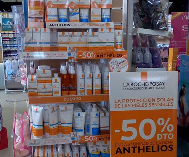 Farmacia especializada en protección solar en Culleredo