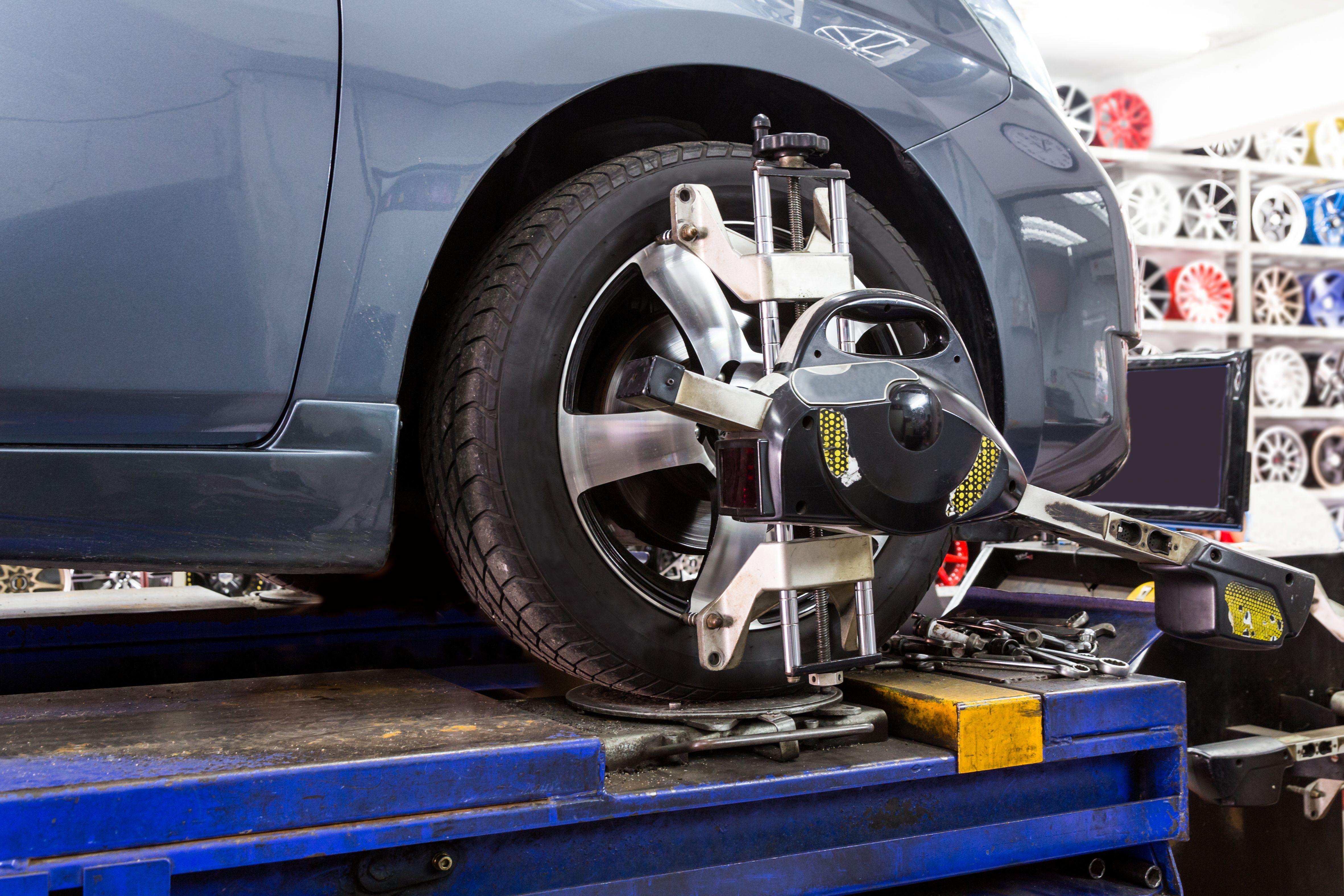Alineado de neumáticos