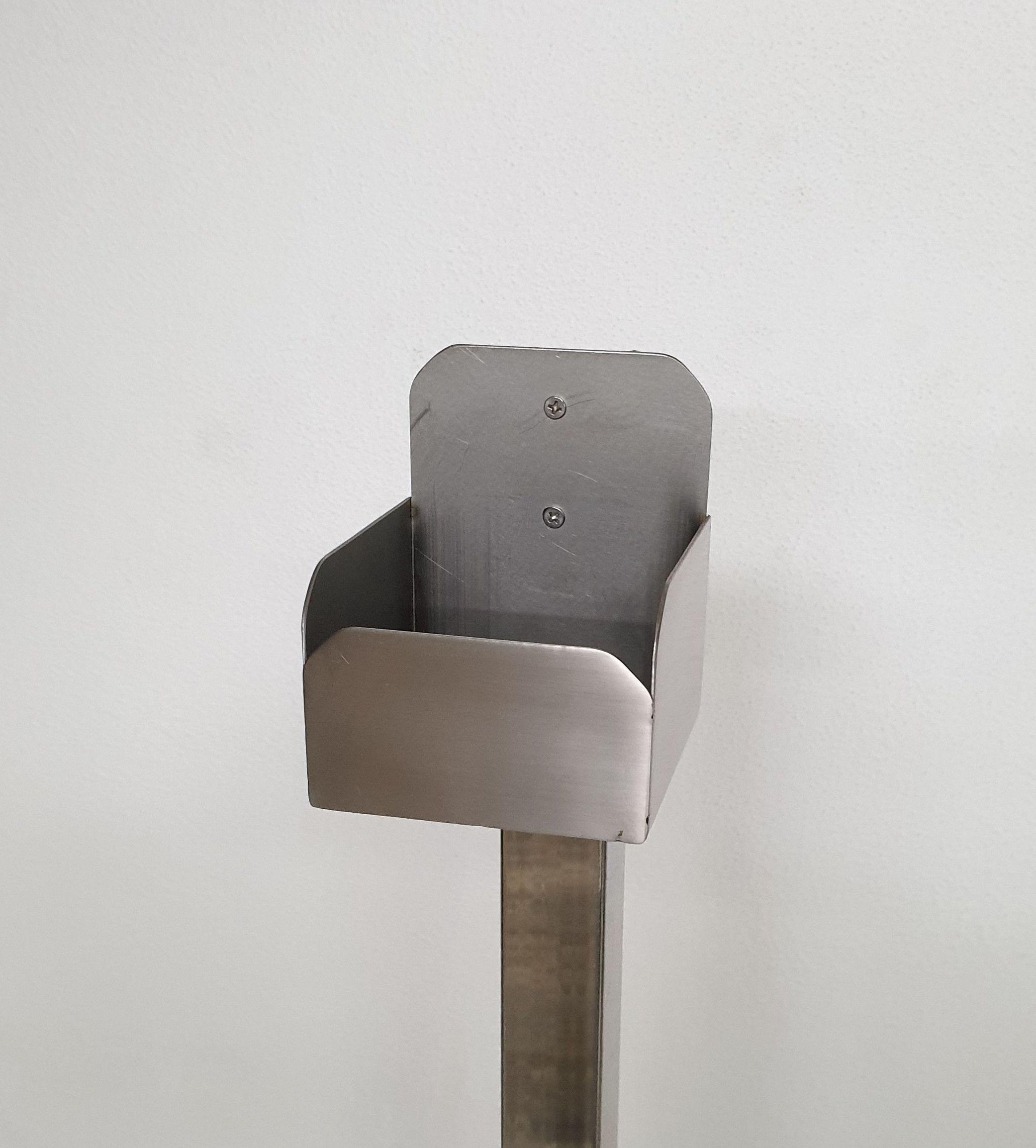 Detalle base para gel envase auto dispensador