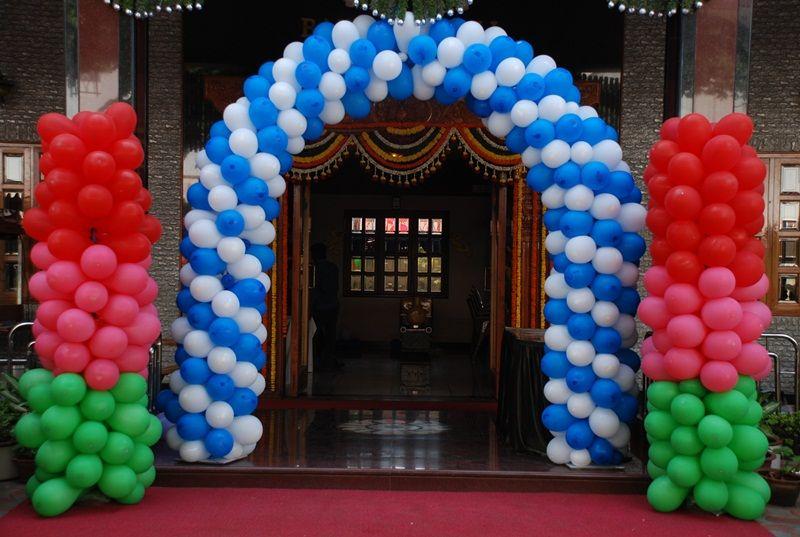 Decoración con globos para fiestas en Huelva