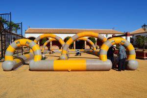 Atracciones hinchables en Huelva