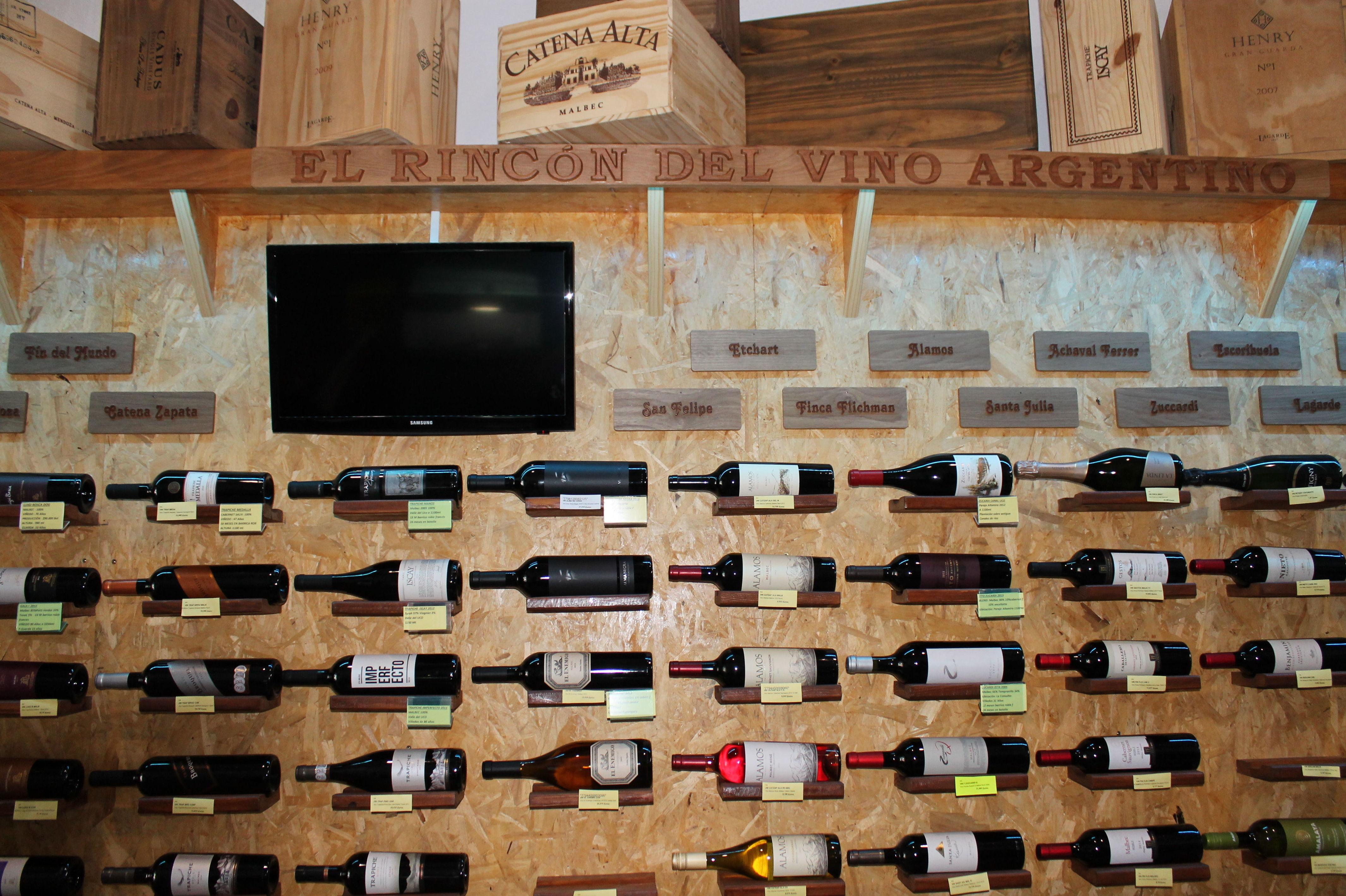 el rincon del vino argentino