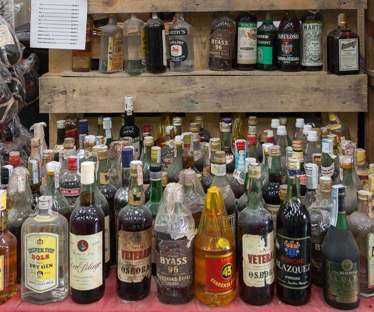 Venta de bebidas en Aguilar de Campoo