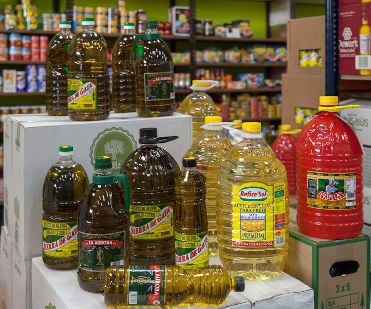 Venta de aceites en Aguilar de Campoo