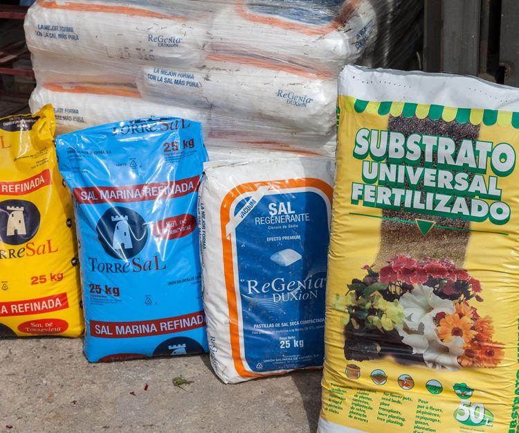 Sustrato universal fertilizado en Aguilar de Campoo
