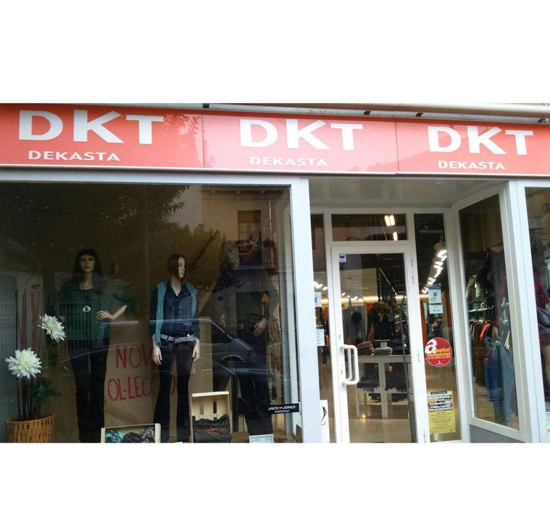 Fachada de DKT Amposta