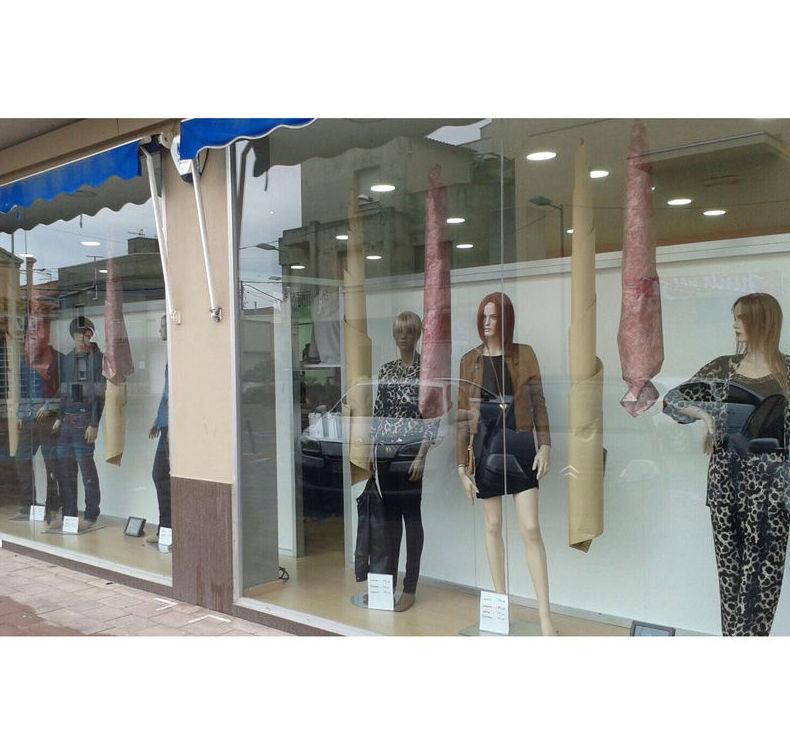 Escaparate de la tienda DKT La Cava en Tarragona