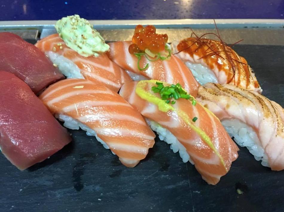 Restaurante especializado en sushi