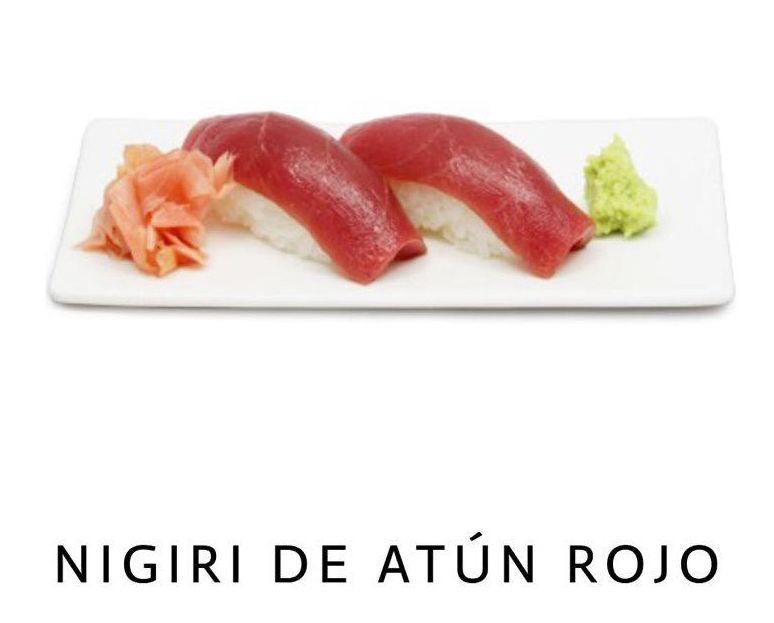 Nigiri de Atun en Málaga