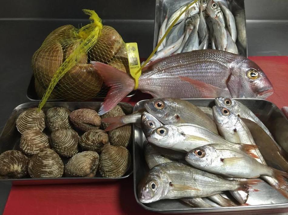 Pescados y mariscos de primera calidad