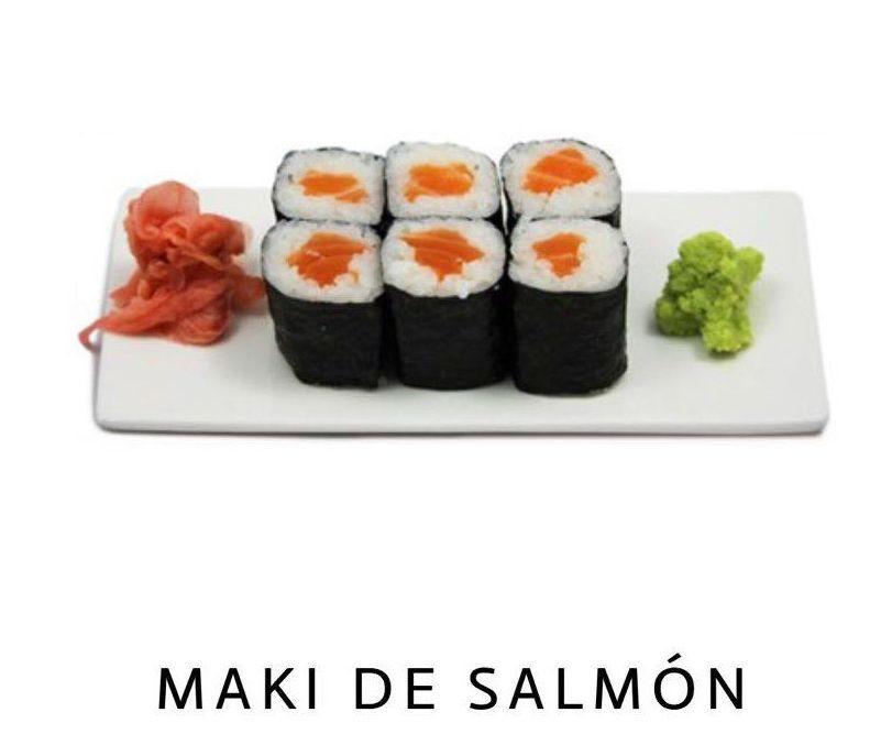 Maki de Salmón en Malaga