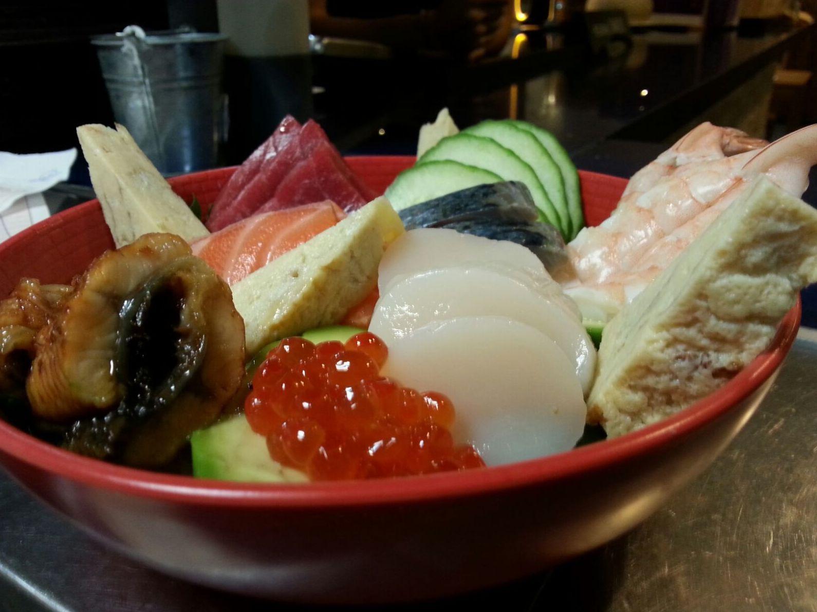 Chirashi sushi Malaga