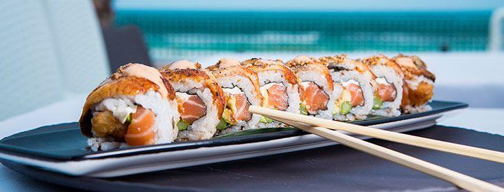 Uramaki: Nuestra carta de Rocío Tapas y Sushi