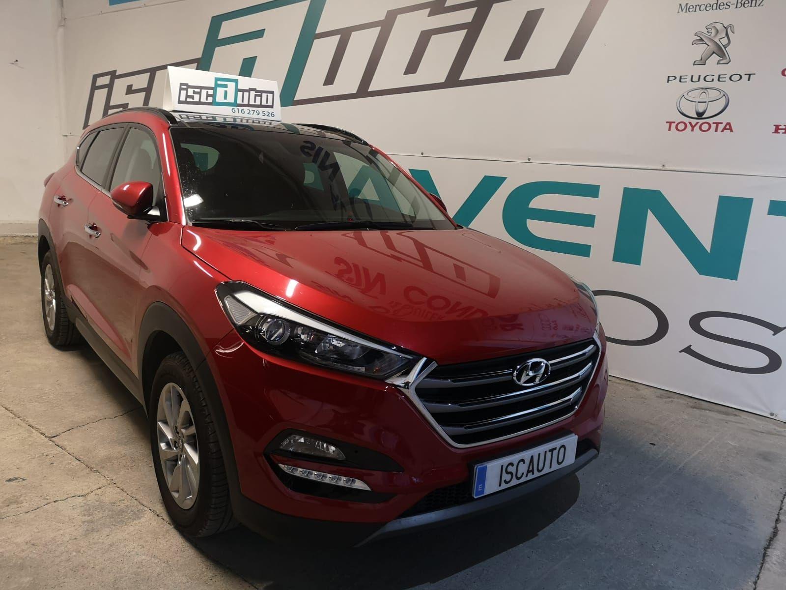 Hyundai Tusson: Servicios de Iscauto