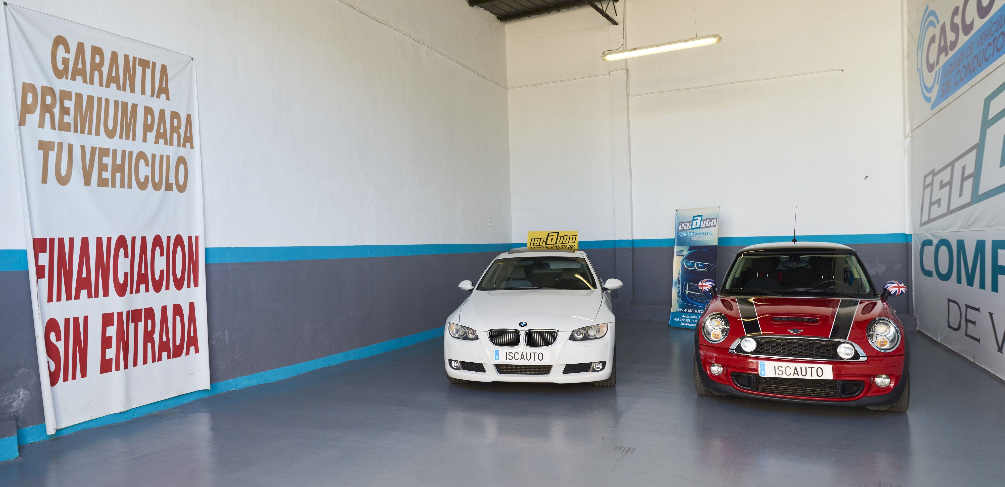 Exposición de vehículos