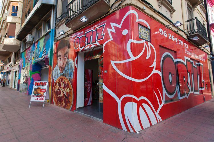 Fachada de nuestro local en Alzira (Valencia)
