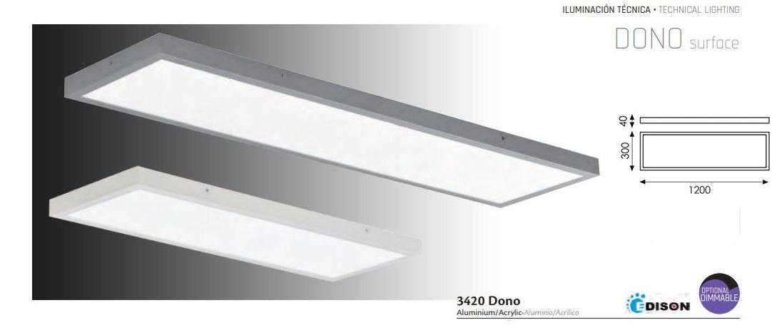 Plaf 243 N Led Dono 52 8 W Productos De Mercurio Alumbrado