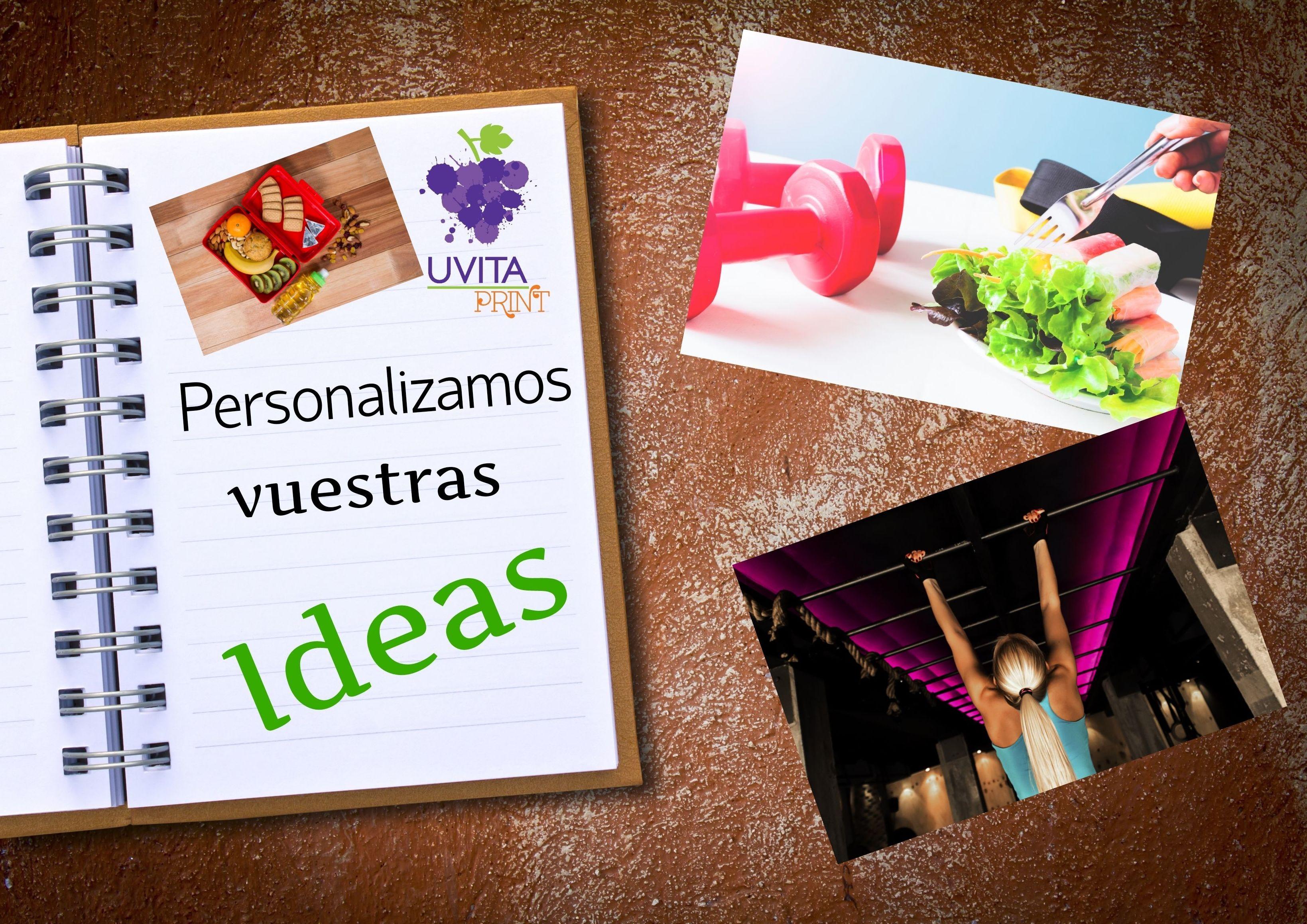 Os dedicáis al área de la nutrición, salud, deporte? Personalizamos vuestras ideas!