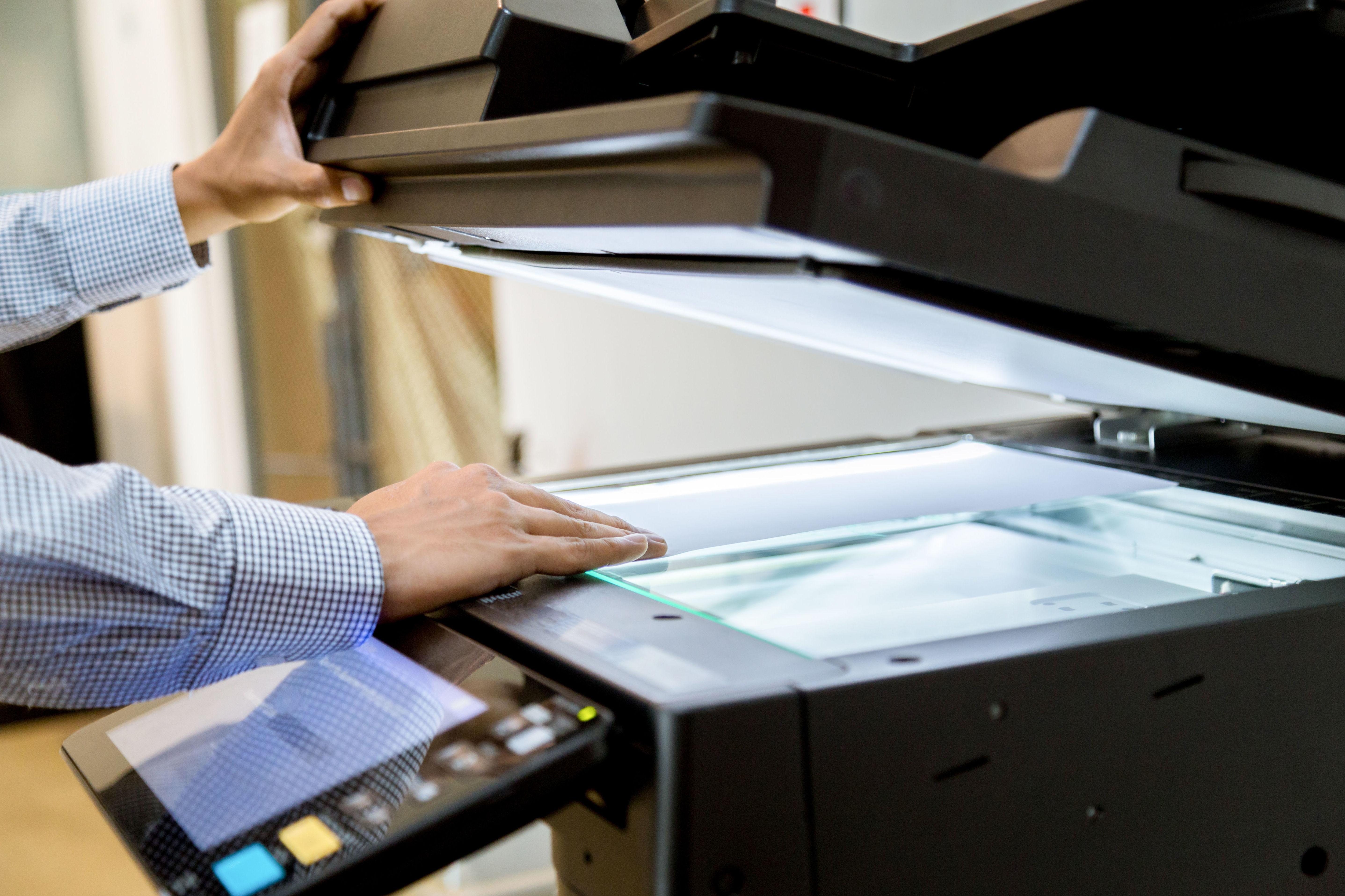 Escaner de documentos y fotografías