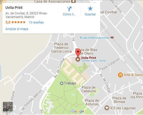 Nuestra ubicación