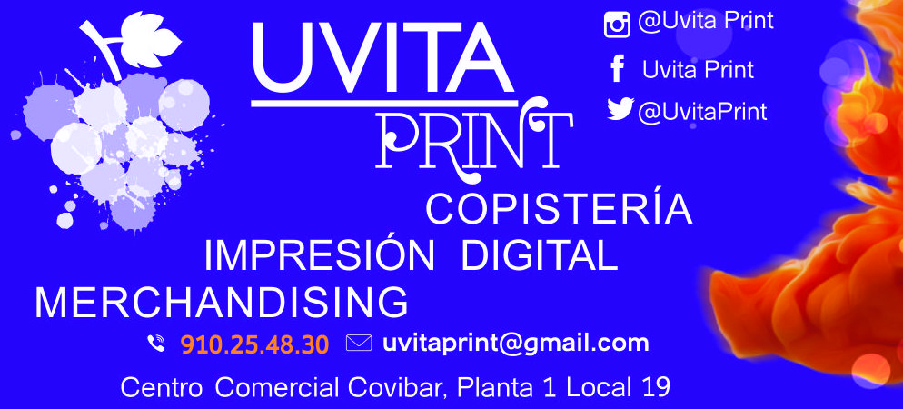 Hoy en Uvita Print trabajamos media jornada