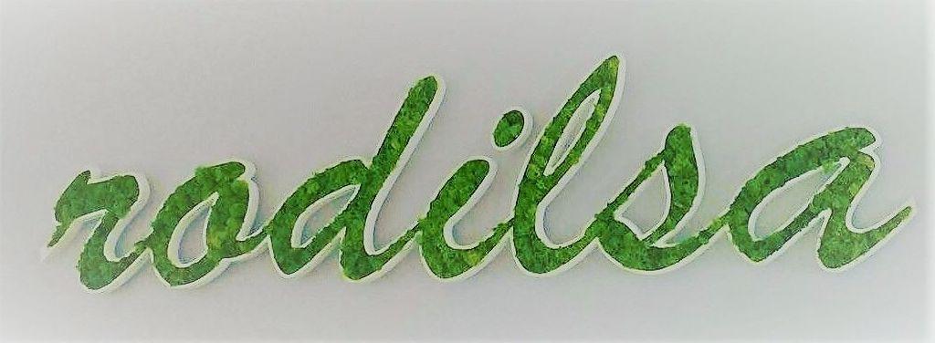 Logo Vegetal y Letras Corpóreas