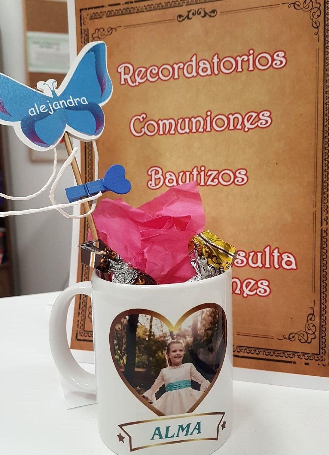 Tazas Personalizadas y recordatorios