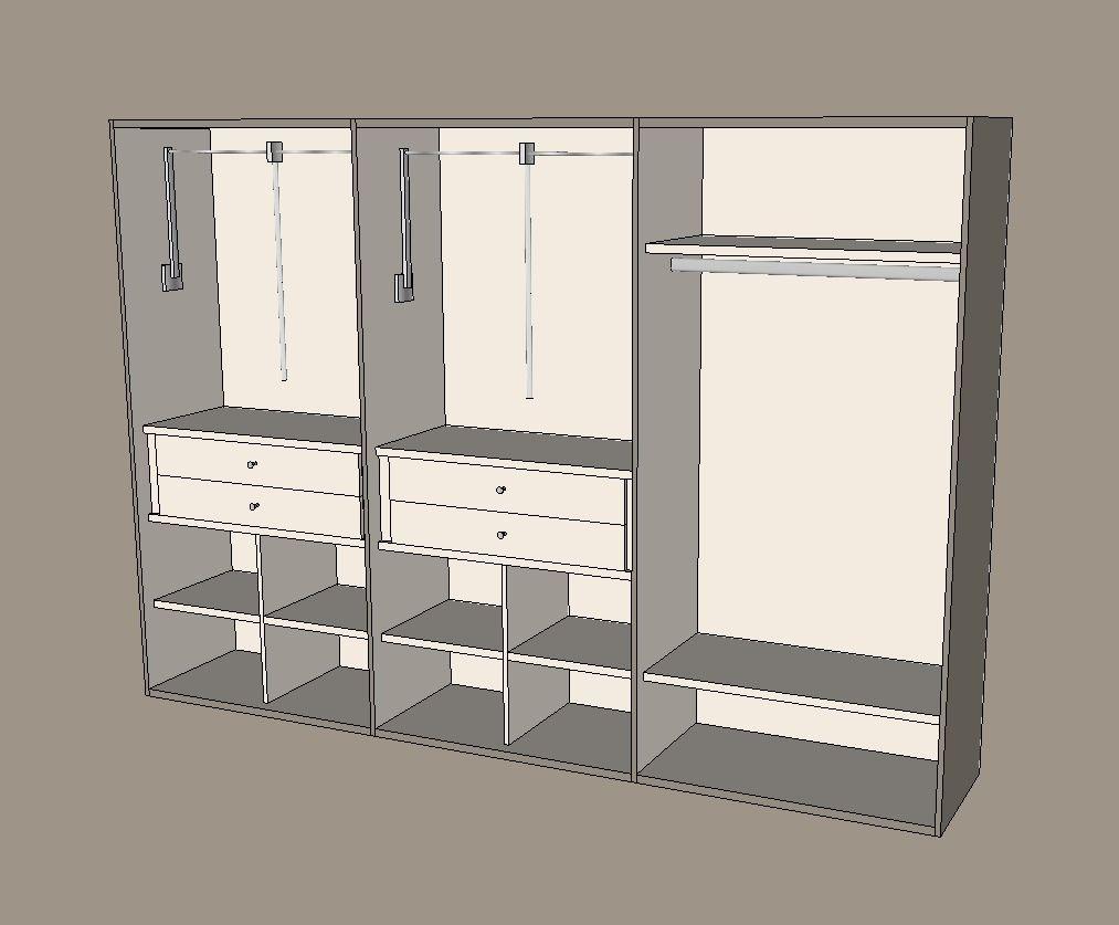 Instalación de armarios empotrados en Zamora