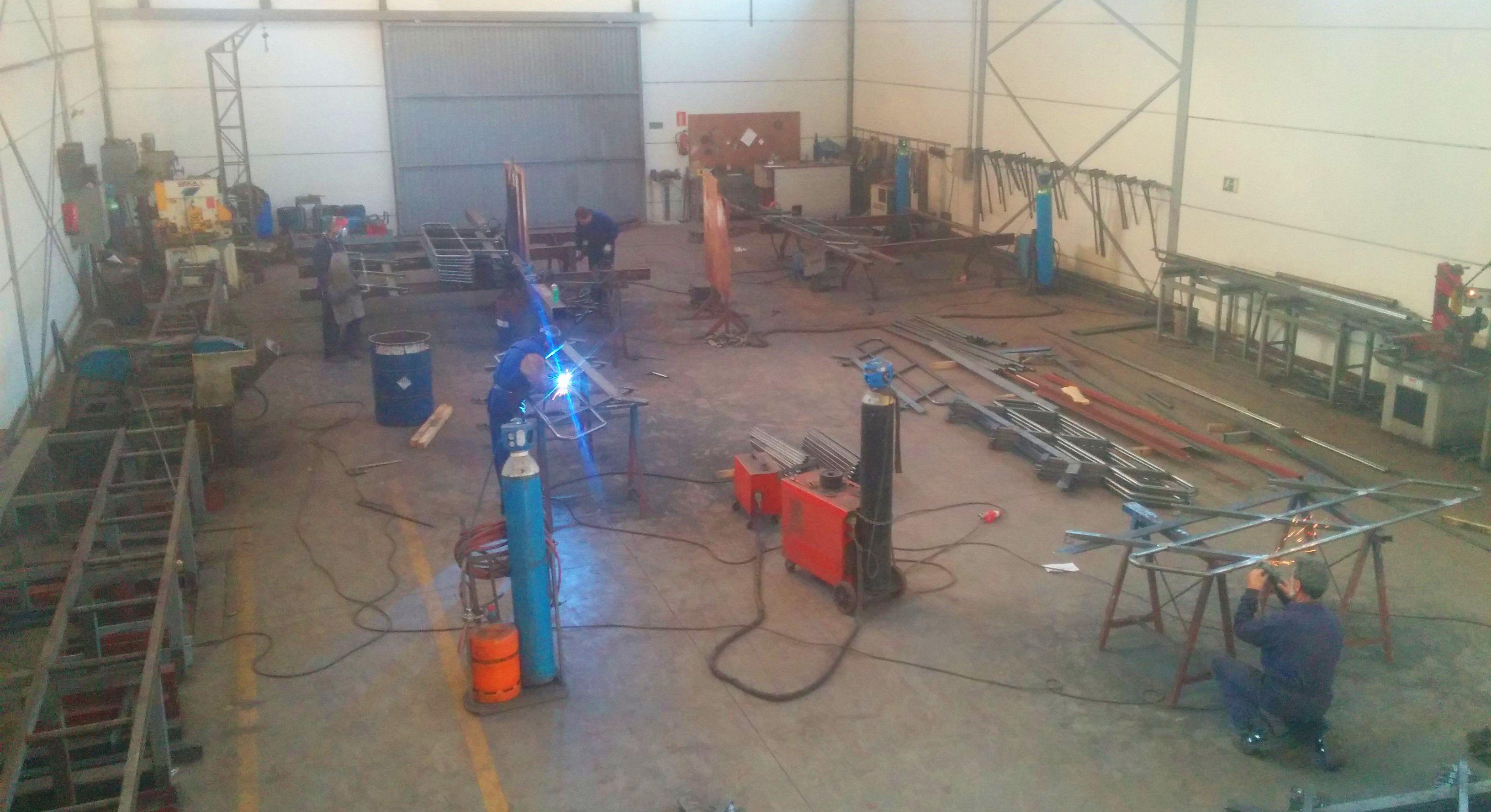 Foto 2 de Estructuras metálicas en Colmenar Viejo | GÓMEZ SIERRA NORTE, S.L.