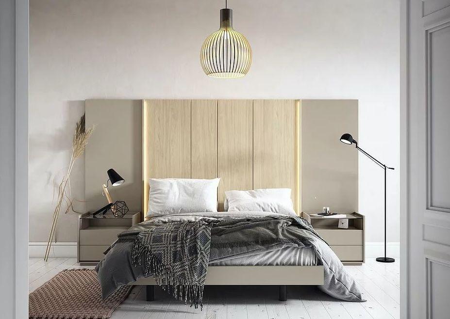 Habitación matrimonio DM_3: Muebles de Spais a Mida